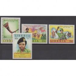 Liberia - 1981 - Nb 882/885 - Various Historics Themes