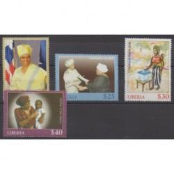 Liberia - 2006 - No 4396/4399 - Célébrités