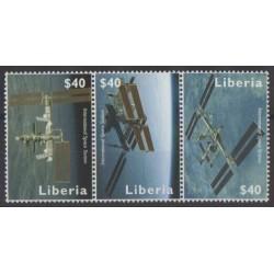 Liberia - 2008 - No 4542/4544 - Espace