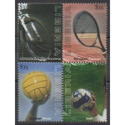 Liberia - 2009 - No 4603/4606 - Sports divers