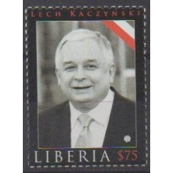 Liberia - 2010 - No 4776 - Célébrités
