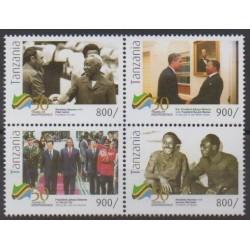 Tanzanie - 2011 - No 3792G/3792K - Histoire