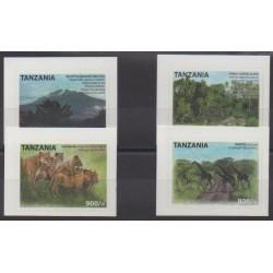 Tanzanie - 2012 - No 3750L/3750P - Parcs et jardins