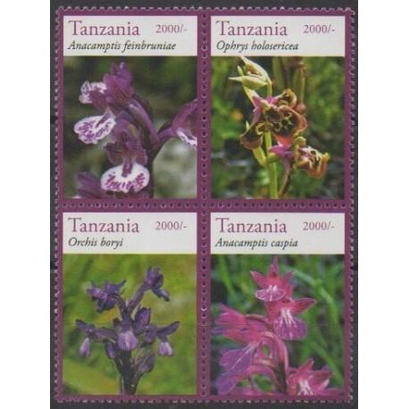 Tanzanie - 2014 - No 3892/3895 - Orchidées