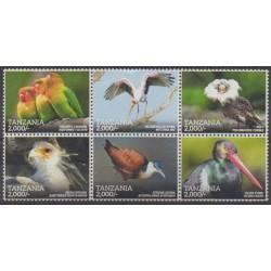 Tanzanie - 2015 - No 3943/3948 - Oiseaux