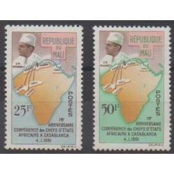 Mali - 1962 - Nb 31/32 - Various Historics Themes