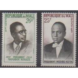 Mali - 1961 - Nb 13/14 - Celebrities