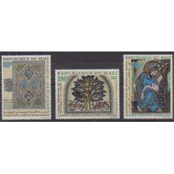 Mali - 1970 - Nb PA105/PA107 - Art - Religion