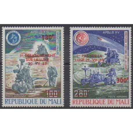 Mali - 1974 - No PA220/PA221 - Espace - Neufs avec charnière