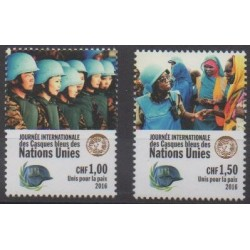 Nations Unies (ONU - Genève) - 2016 - No 946/947 - Nations unies