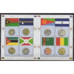United Nations (UN - Geneva) - 2015 - Nb 893/900 - Coins, Banknotes Or Medals - Flags