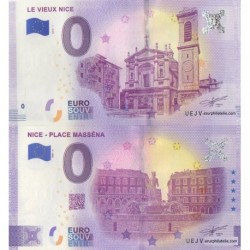 Billet souvenir - 06 - Nice - Place Masséna - Vieux Nice - Même numéro
