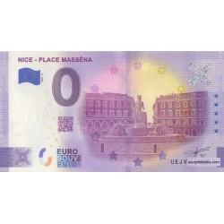 Euro banknote memory - 06 - Nice - Place Masséna - Numéro de la 1ère liasse - 2021-2