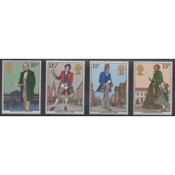 Great Britain - 1979 - Nb 909/912 - Philately