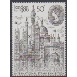 Great Britain - 1980 - Nb 931 - Monuments - Philately