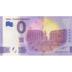 Euro banknote memory - 06 - Nice - Place Masséna - 2021-2 - Nb 3