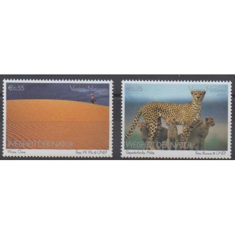 Nations Unies (ONU - Vienne) - 2005 - No 450/451 - Exposition