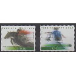 Nations Unies (ONU - Vienne) - 2005 - No 452/453 - Sports divers