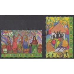 Nations Unies (ONU - Vienne) - 2008 - No 557/558 - Peinture