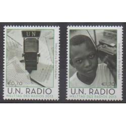 Nations Unies (ONU - Vienne) - 2013 - No 772/773 - Télécommunications