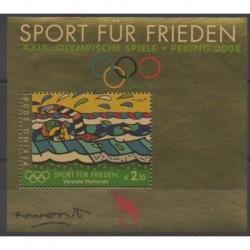 Nations Unies (ONU - Vienne) - 2008 - No BF18 - Jeux Olympiques d'été