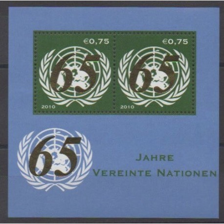 Nations Unies (ONU - Vienne) - 2010 - No BF20