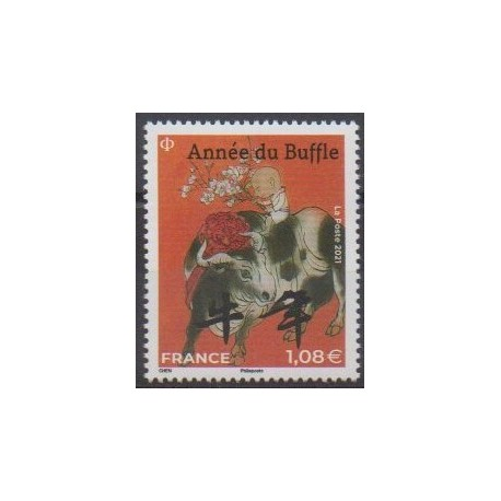 France - Poste - 2021 - No 5467 - Horoscope