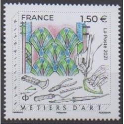 France - Poste - 2021 - Métiers d'art - Art