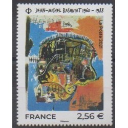 France - Poste - 2021 - Jean-Michel Basquiat - Paintings