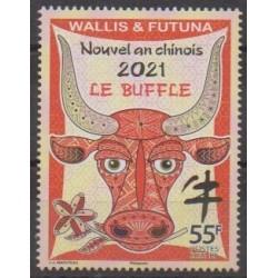 Wallis et Futuna - 2021 - No 935 - Horoscope