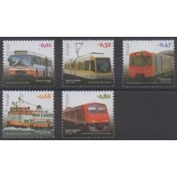 Portugal - 2010 - No 3461/3465 - Transports