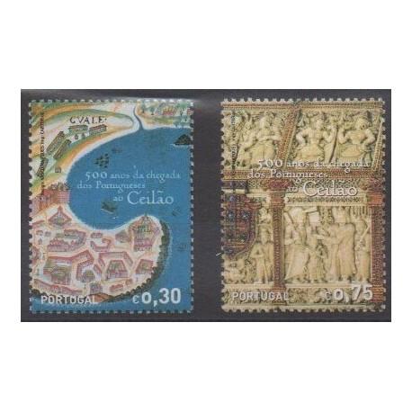 Portugal - 2006 - No 3094/3095 - Histoire