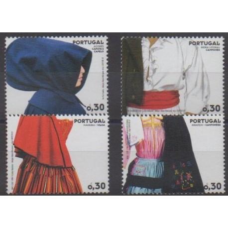 Portugal - 2007 - No 3114/3117 - Costumes
