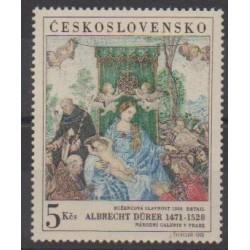 Tchécoslovaquie - 1968 - No 1653 - Peinture