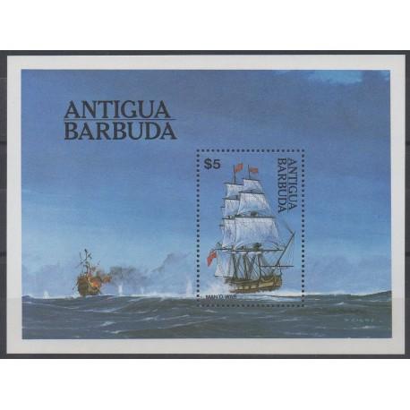 Antigua et Barbuda - 1984 - No BF 75 - Bateaux