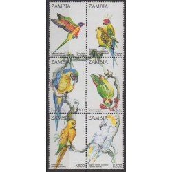 Zambie - 1998 - No 745/750 - Oiseaux