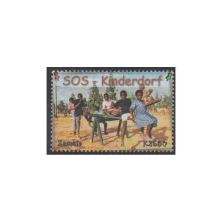 Zambie - 2001 - No 1167 - Enfance