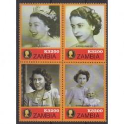 Zambie - 2006 - No 1363/1366 - Royauté - Principauté