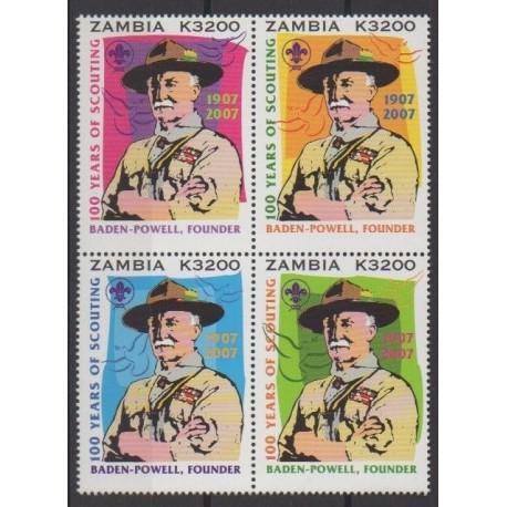 Zambie - 2006 - No 1371/1374 - Scoutisme