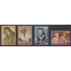 Polynésie - 2001 - No 638/641 - Musique