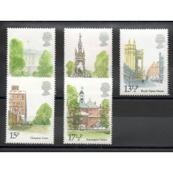 Great Britain - 1980 - Nb 932/936 - Monuments