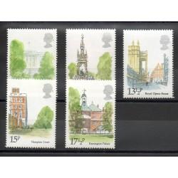 Grande-Bretagne - 1980- No 932/936 - Monuments