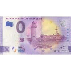 Euro banknote memory - 85 - Pays de Saint Gilles Croix de Vie - 2021-1