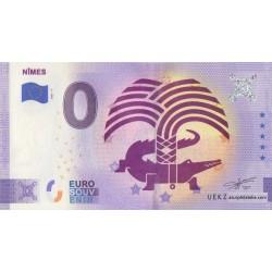 Euro banknote memory - 30 - Nimes - 2021-7 - Anniversary