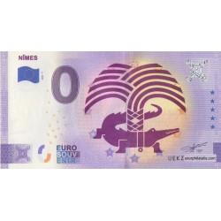Euro banknote memory - 30 - Nimes - 2021-7