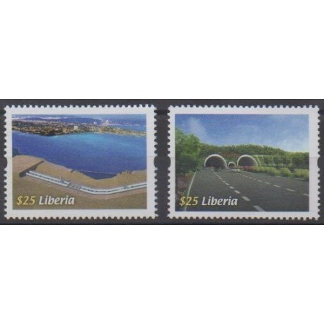 Liberia - 2011 - No 5054/5055