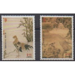 Liberia - 2012 - No 5176/5177 - Horoscope