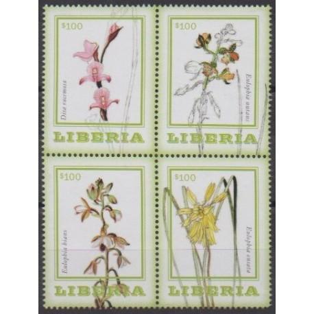 Liberia - 2014 - No 5382/5385 - Orchidées