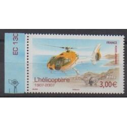 France - Poste aérienne - 2007 - No PA70a - Hélicoptères