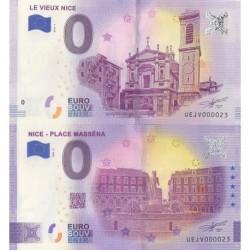 Euro banknote memory - 06 - Nice - Place Masséna - Vieux Nice - Nb 23